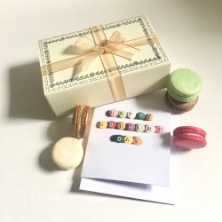 Macaron Selection Box of 14 with Mother's Day Macaron Card