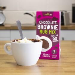 Chocolate Brownie Mug Mix (3 Portions)
