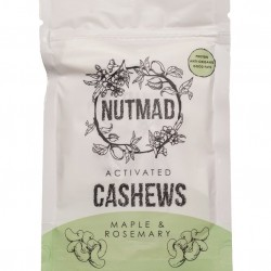 Activated Cashews Maple and Rosemary - 2 x 70g packs