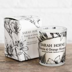 Freesia & Orange Blossom Natural Scented Candle