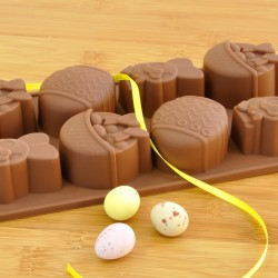 Easter Chocolate Mould - Reusable Flexible Silicone