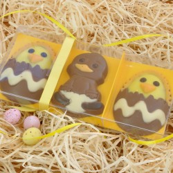 Happy Easter Chocolate Chicks