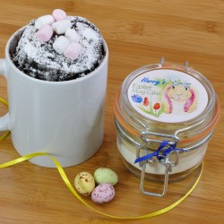 Personalised Vegan Easter Mug Cake Treat