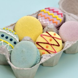 Easter Egg Macarons