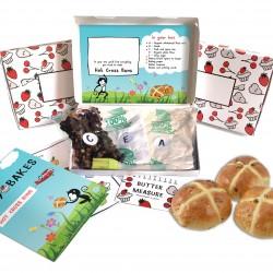 Personalised Kids Hot Cross Buns Baking Kit