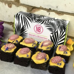 Pink Easter Brownies Collection Classic (Gluten Free, Dairy Free, Refined Sugar Free)