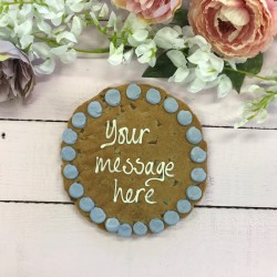 Mothers Day Personalised Giant Chocolate Chip Cookie Card