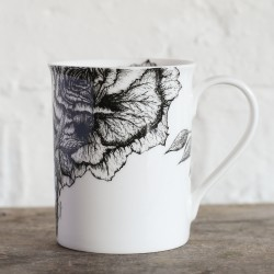 Rose & Jasmine Fine Bone China Mug
