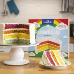 No-Fuss No-Waste Rainbow Cake Baking Kit