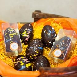 Happy Vegan Chocolate Easter Eggs