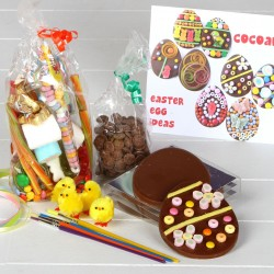 Chocolate Easter Eggs Kit For Children