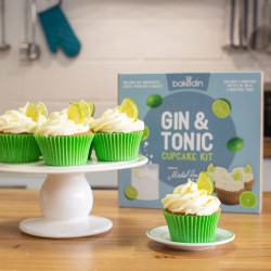 Michel Roux's Gin & Tonic Cupcake Baking Kit