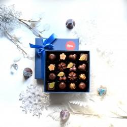 16 beautiful chocolates