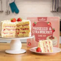 Michel Roux's Prosecco & Strawberry Cake Kit