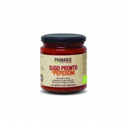 Organic Tomato Pasta Sauce with Peppers (set of 3)