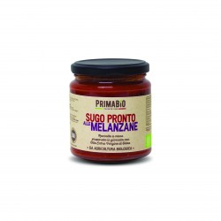 Organic Tomato Pasta Sauce with Aubergines (Set of 3)