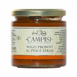 Tomato Pasta Sauce with Swordfish