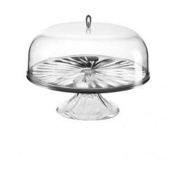 Look Cake Stand With Dome