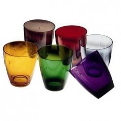 Uno Polycarbonate 33cl Glass (Choice of Colour)