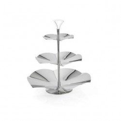 Concave Three-Tier Stand