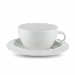 Alessi Bavero Tea Cup Set of 2