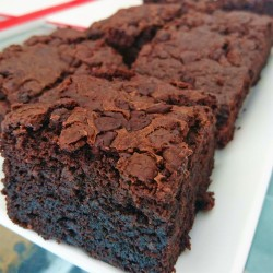Vegan and Free Of Wheat/Gluten Chocolate Brownies - Box Of Four