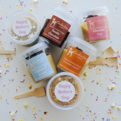 Mother's Day Edible Cookie Dough Variety Pack (6 Single Serving Pots)