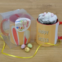 Personalised Vegan Easter Bunny Mug Cake Gift