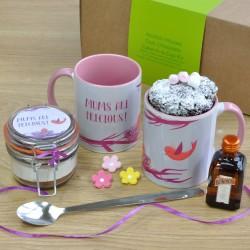 Mums Are Precious Alcohol-Infused Chocolate Mug Cake Gift Set