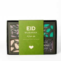 Eid Mubarak Organic Chocolate Gift Box