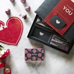 'I Love You' Organic Chocolate Gift Box