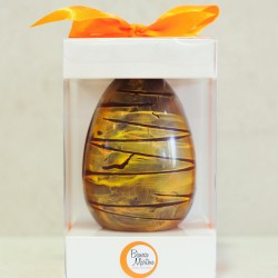 Vegan Dark Chocolate Easter Egg