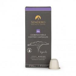 Compostable Coffee Capsules - Uganda (10 Capsules)