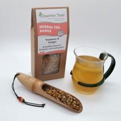Turmeric & ginger loose leaf blend