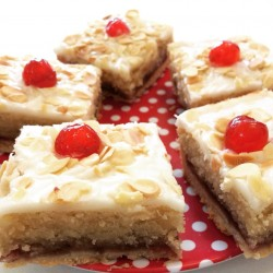 Vegan Bakewell Tart - Box Of Four Squares