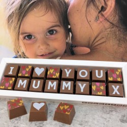 Personalised I LOVE YOU MUMMY Box of Chocolates