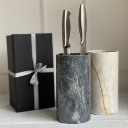 Marble Knife Block