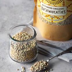 Activated Organic Buckwheat - Plain