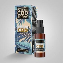 Full Spectrum CBD Oil Tincture 10ml Atomiser Spray Bottle - Purified Range - Choice of 250mg, 500mg & 1000mg