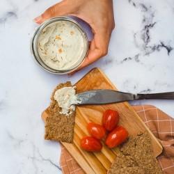 Carrot Lox Vegan Cashew Cream Cheese
