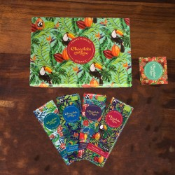 Panama Chocolate Gift Box (4x 40g bars)