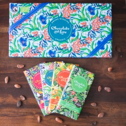 Sea Salt Chocolate Gift Box (4x 80g bars)
