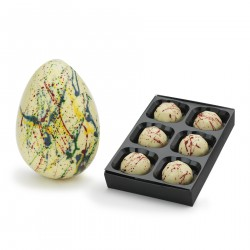 Colourful Speckled White Easter Egg Combo