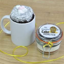 Stepdad's Chocolate Mug Cake Treat (Vegan, Dairy-Free, Gluten-Free, Low-Sugar & Regular Recipes Available)