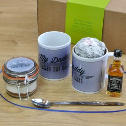 Daddy's Alcohol-Infused Chocolate Mug Cake Gift Set