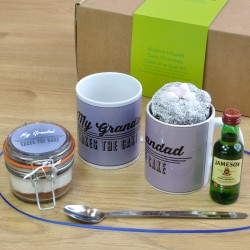 Grandad's Alcohol-Infused Chocolate Mug Cake Gift Set
