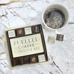 Fathers Day Dad Fuel Chocolate Coffee Box