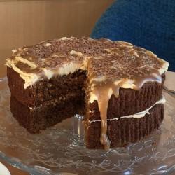 Caramel & Ginger Cake (Gluten Free)