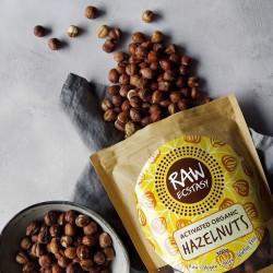 Activated Organic Hazelnuts - Plain