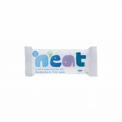 N'eat Blueberries & Chia Seeds Natural Energy Fruit Bars (16x45g)